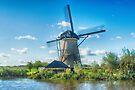 Windmills of Kinderdijk Nederlands (UNESCO Site) by Imagery