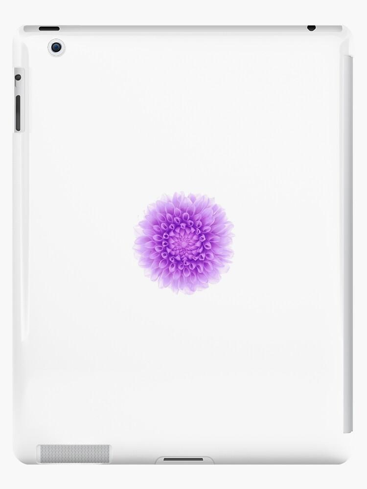 Purple flower wallpaper white iphone case ipad cases skins by purple flower wallpaper white iphone case by 0hmygarden mightylinksfo