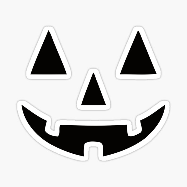 JACK O' LANTERN Pumpkin Halloween Sticker