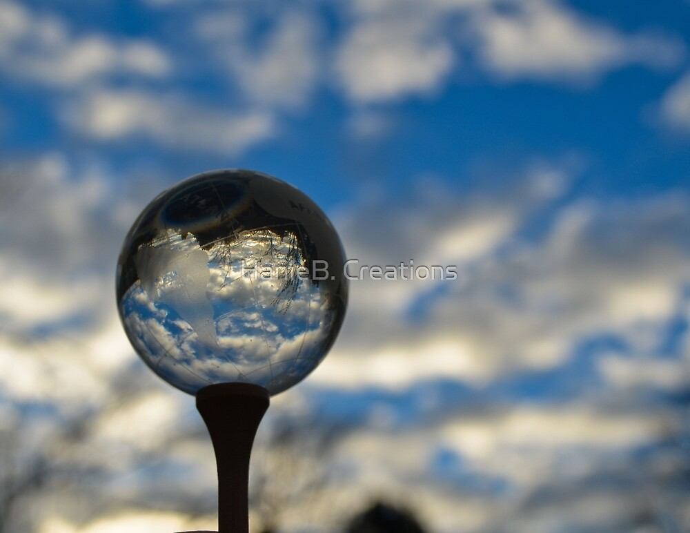 Captured in The Glass Sphere by HanieBCreations