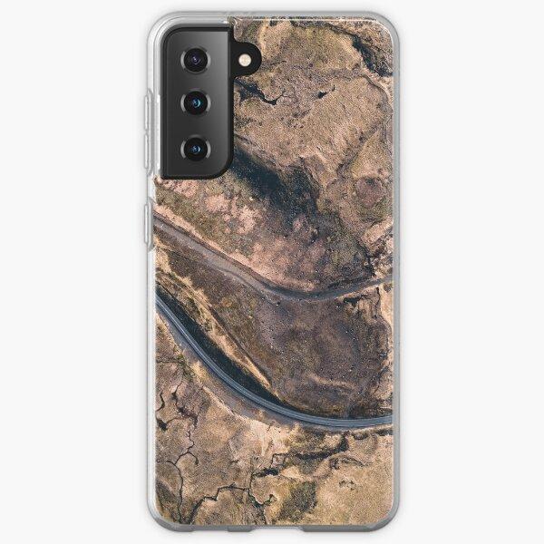 Aerial top down shot Samsung Galaxy Soft Case