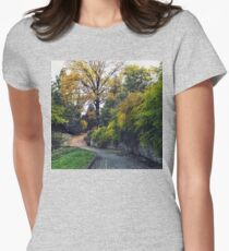 Autumn colors Womens Fitted T-Shirt