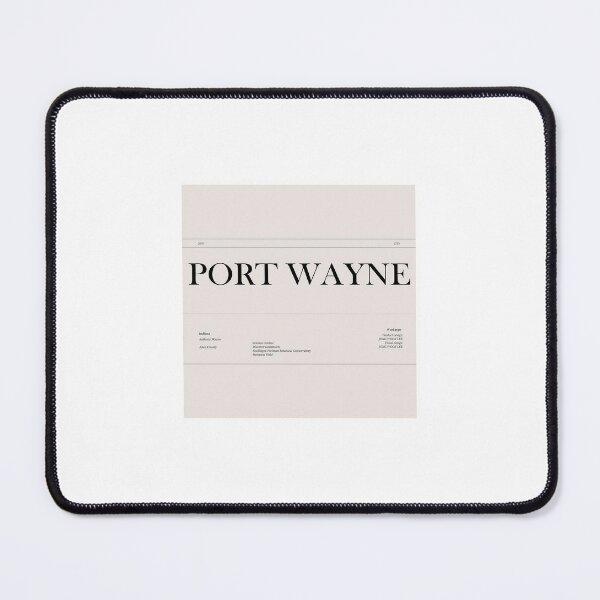 PORT WAYNE PROFILE Mouse Pad