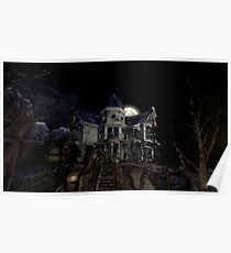 Halloween Haunted House Poster
