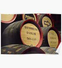 Guiness Brewery Keg Poster