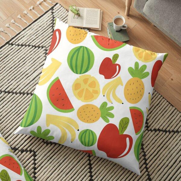 Fruits pattern Floor Pillow