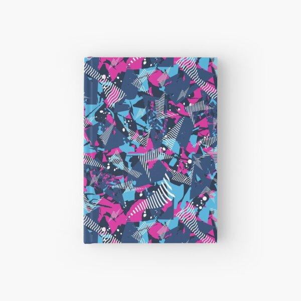 abstract modern camo design Hardcover Journal