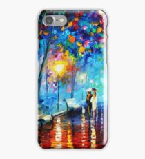 """Illuminated Forest Path"" iPhone Case/Skin"