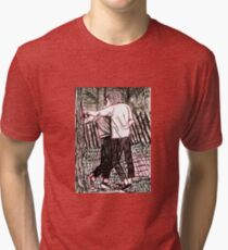 Christopher Street Day Kiss in 1970 Tri-blend T-Shirt