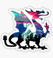 Dargonbraun Sticker