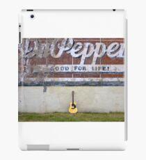 Gitarren Über die Stadt - Dr Pepper iPad-Hülle & Klebefolie