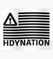 HDYNATION FLAG FLOSSTRADAMUS Poster