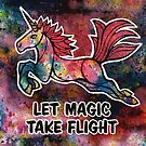 Let Magic Take Flight. by mellierosetest