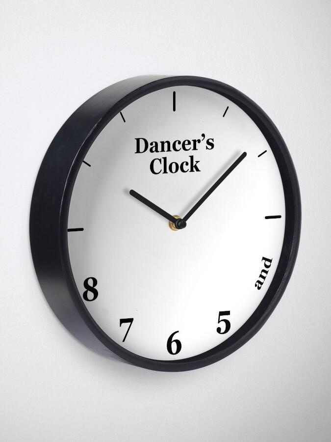 Alternate view of Dancer's Clock Clock