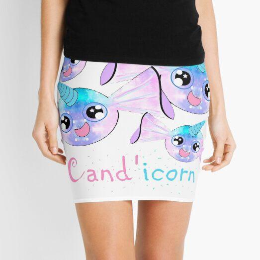 Cand'icorn - Kawaii Candy Unicorn Mini Skirt