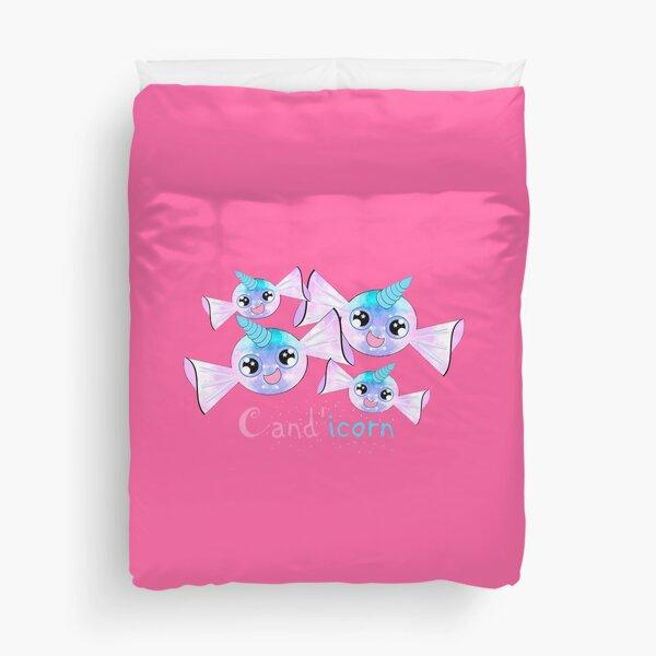 Cand'icorn - Kawaii Candy Unicorn Duvet Cover