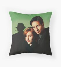 Mulder & Scully Throw Pillow