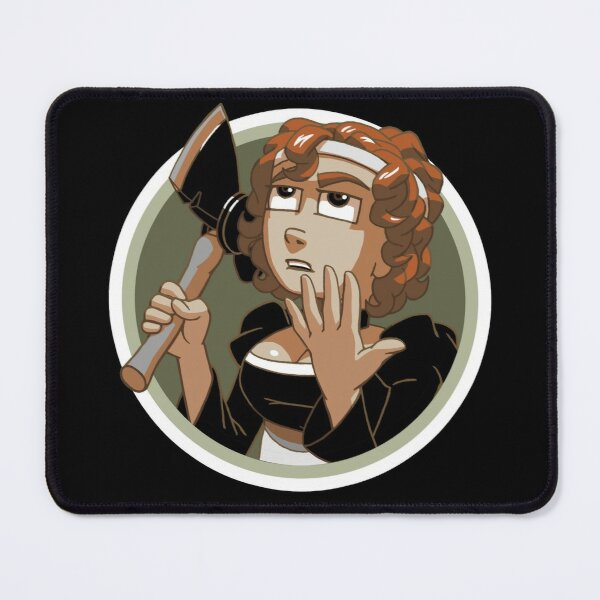 Alice Has An Axe! Mouse Pad