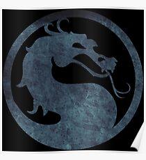 °GEEK° Mortal Kombat Logo Poster