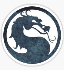 ° GEEK ° Mortal Kombat Logo Sticker