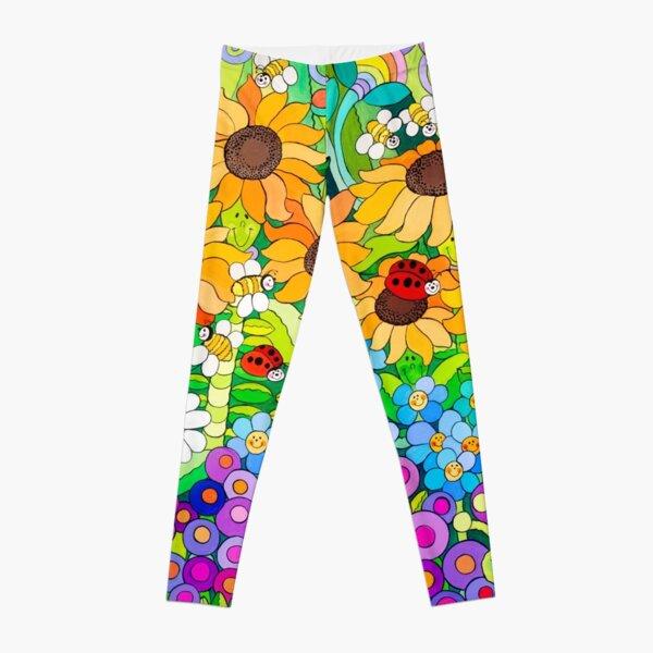 Ladybug Garden II Leggings