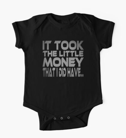 It Took the Little Money I Did Have... Kids Clothes