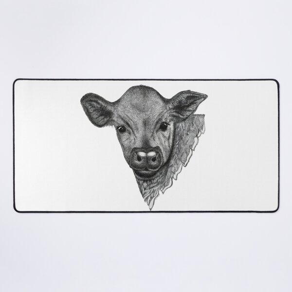 Baby Cow Desk Mat