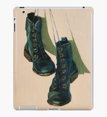 Black Boots iPad Case/Skin