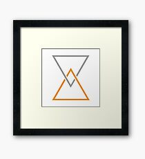 Coheed and Cambria The Afterman Logo Framed Print