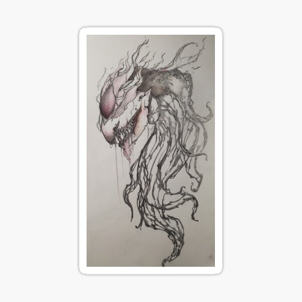 Ethereal Monster Sticker