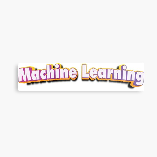 Machine Learning Metal Print