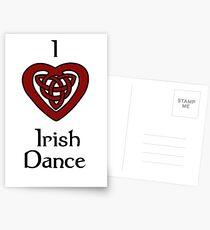 I love Irish Dance! Postcards