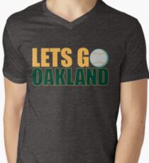 To The Playoffs Men's V-Neck T-Shirt