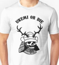 The  Samurai skull Unisex T-Shirt