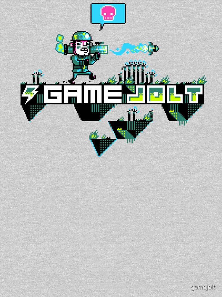 Major Jolt Game Jolt Logo Baby One Piece