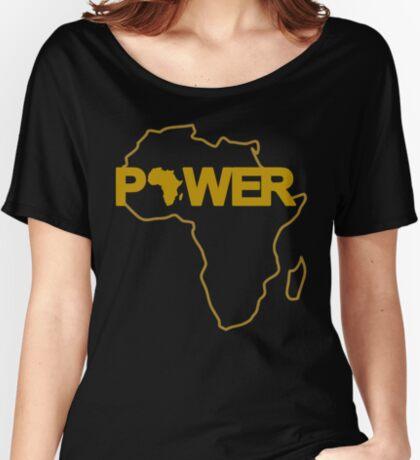 Black Power 3.0 Women's Relaxed Fit T-Shirt