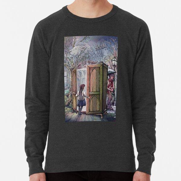Lucy's Discovery, Narnia Fan Art Lightweight Sweatshirt