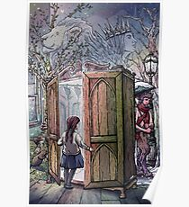 Lucy's Discovery, Narnia Fan Art Poster