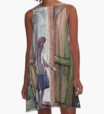 Lucy's Discovery, Narnia Fan Art A-Line Dress