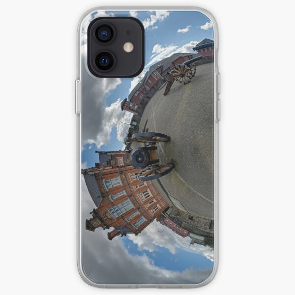 Verbal Arts Centre on the Walls of Derry iPhone Soft Case
