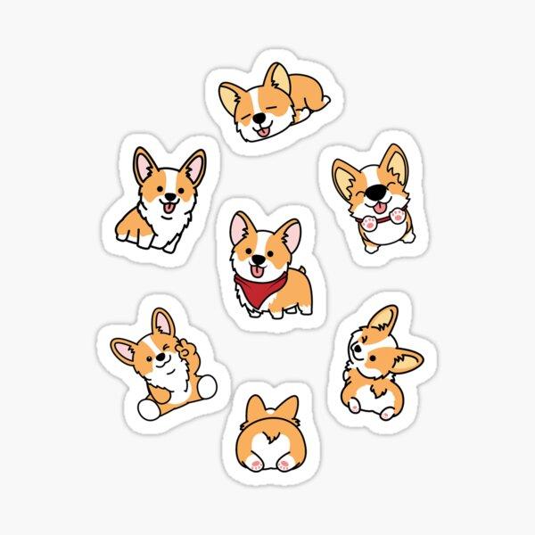 Cute Corgis Sticker
