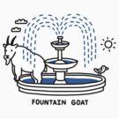 Fountain Goat by obinsun