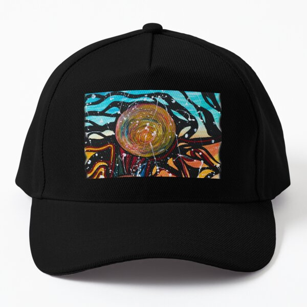 Trippy Planets Baseball Cap