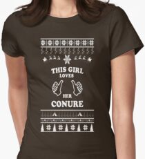 Christmas Holidays Womens Fitted T-Shirt