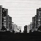 Urban Skyline by David W Bailey