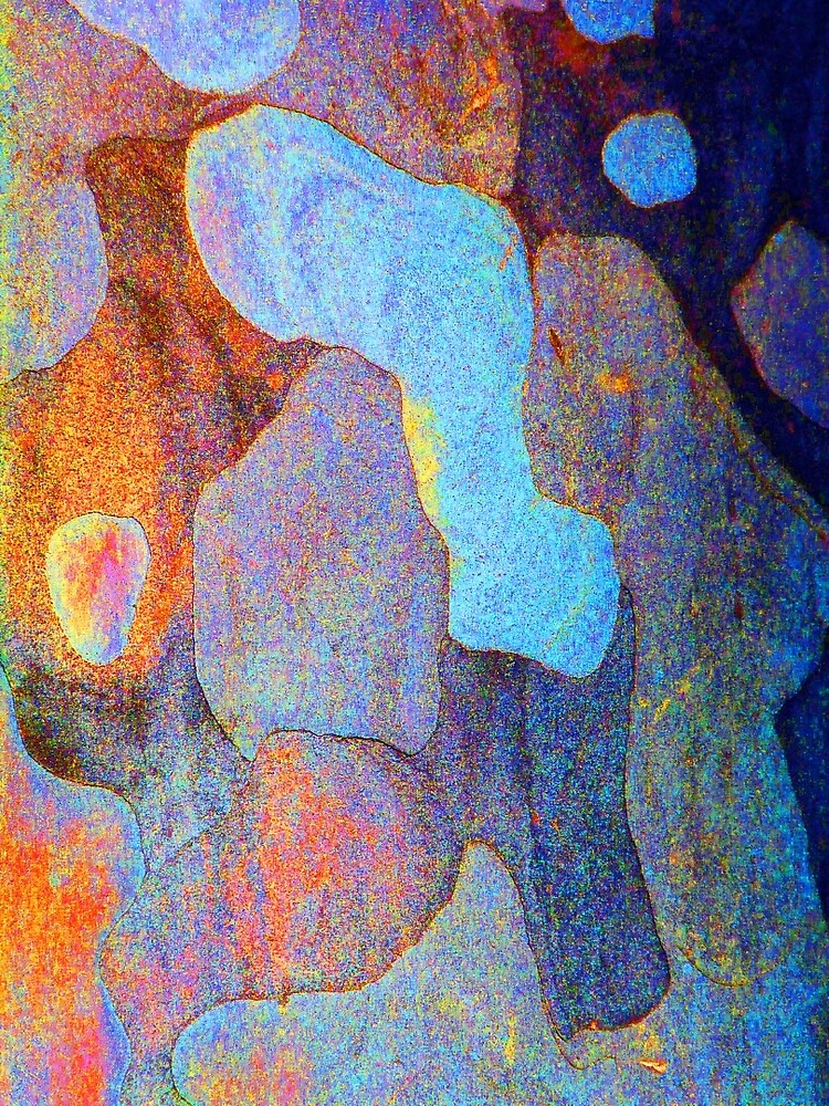 Spring Eucalypt Abstract 11 by Margaret Saheed