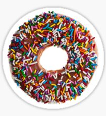 Chocolate Sprinkle Donut Sticker