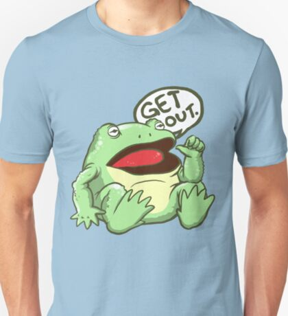 GET OUT. Something Awful Frog T-Shirt