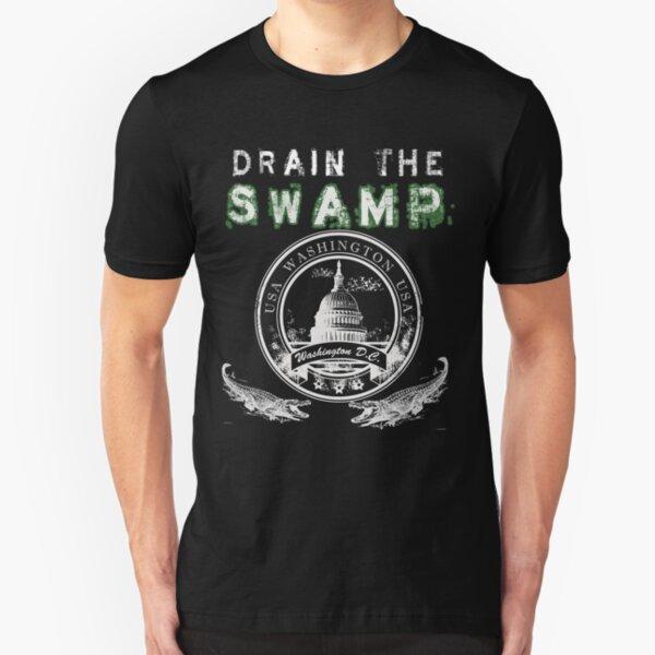 Drain the Swamp Pro Trump Apparel Slim Fit T-Shirt
