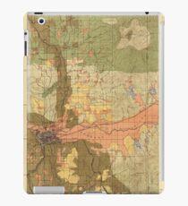 Karte von Spokane 1898 iPad-Hülle & Klebefolie
